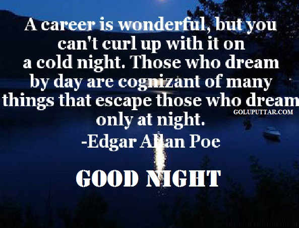 wonderful good night quotes for friends - 897987