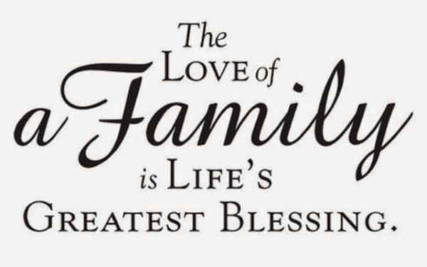 41$ Family love quotes sunday