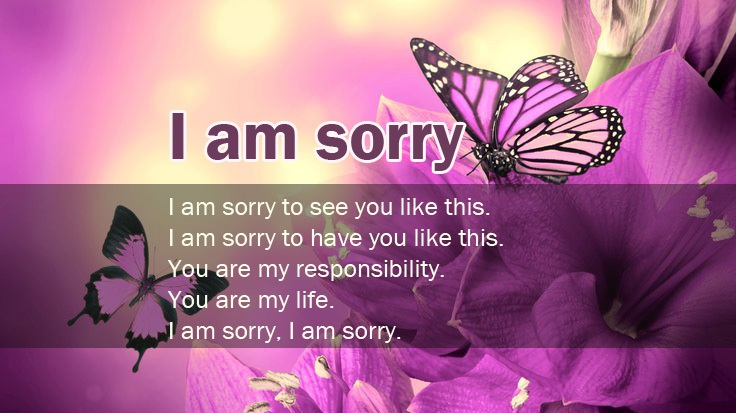 70 @ sorry quotes for him