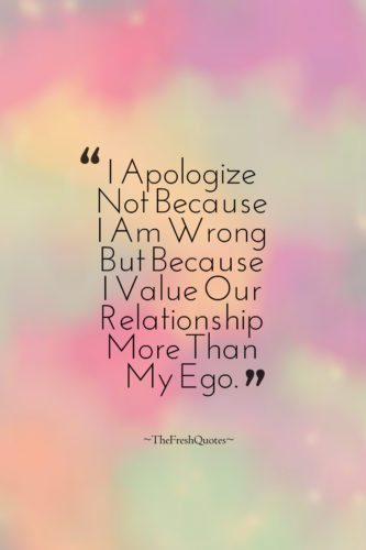 200 Meaningful Sorry Quotes, True Apologize Quotations, Photos and ...