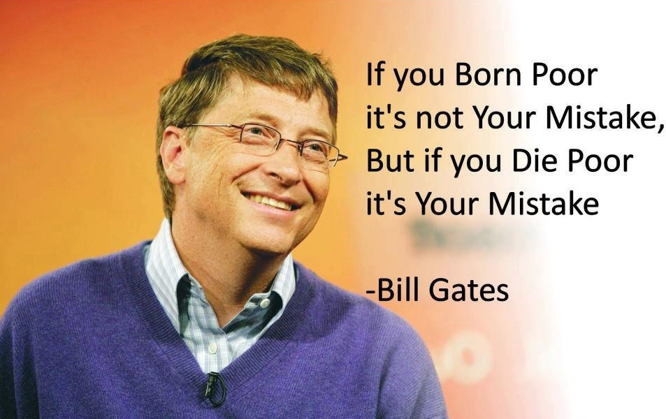 Amazing motivational quotes and sayings by bill gates for hard work people