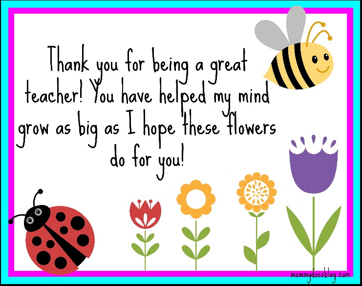 thank you greeting cards for teachers teacher quotes thank you card. quotesgram - Aryshop.net