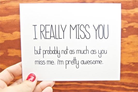 Awesome miss you quotes and sayings for him
