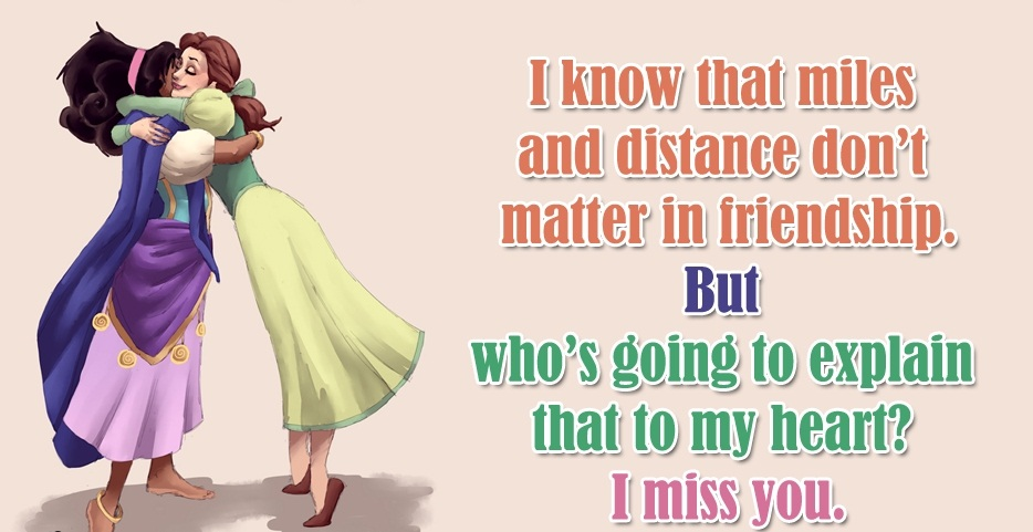 Awesome miss you quotes and sayings for wife