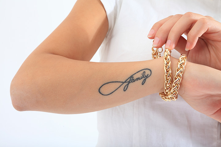 Beautiful small tattoo for cool girls on wrist