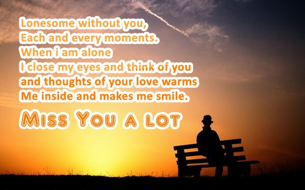 Cute miss you quotes and sayings for lover