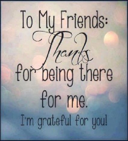 Cute thank you quotes and sayings for lovely friends