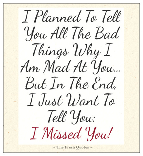 Fabulous miss you quotes and messages for cute friends