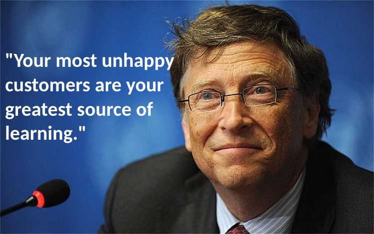 Fabulous motivating quotes and messages by bill gates about achieveing happiness