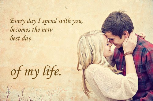 Fabulous sweet love quotes and pictures for girlfriend