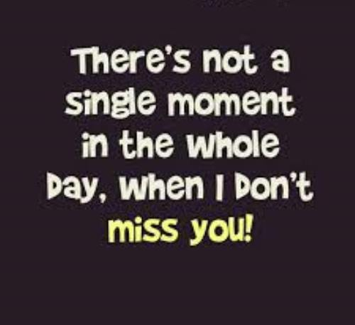 Fantastic miss you quotes and words for lovers
