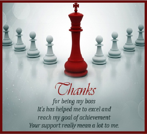 Fantastic thank you quotes and sayings for amazing boss