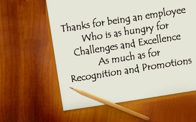 Lovely thank you quotes and sayings for nice employees