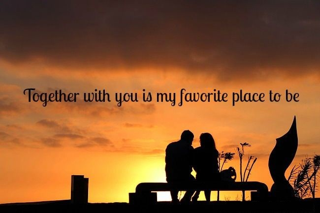 Nice love quotes and messages for love togetherness