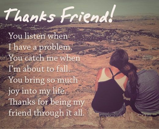 Thanks For Good Wishes Quotes: 32 Funny, Touching And Totally True Friendship Quotes