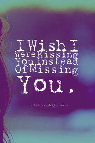 Sweet miss you quotes and messages about missing someone