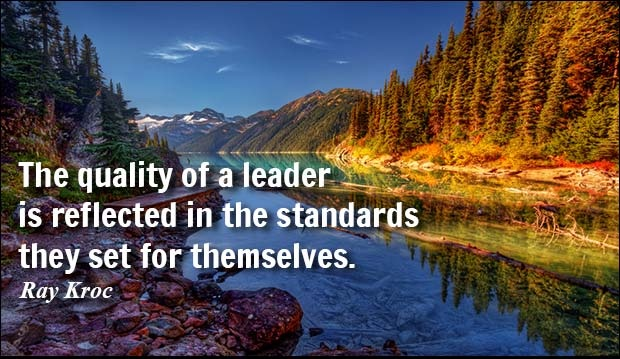 Commanding leadership quotations