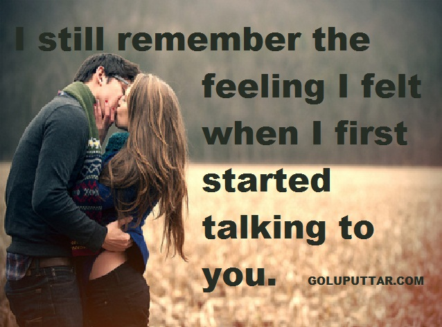 Cute Love feelings quotes