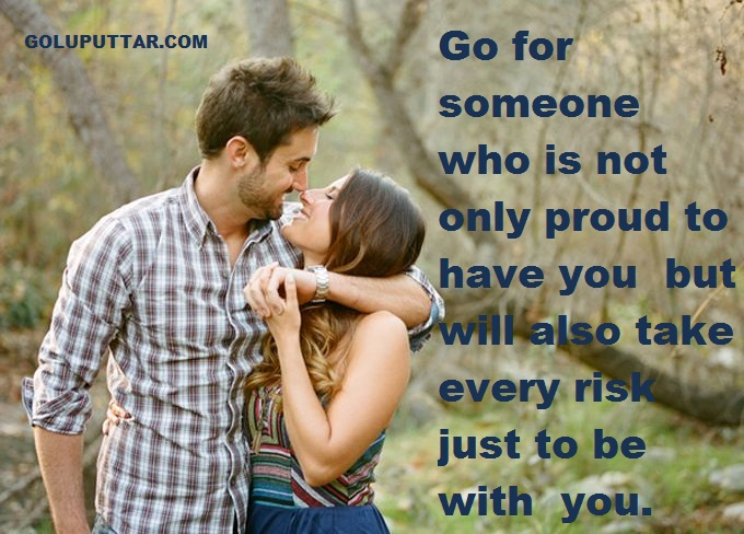 Cute love proud quotes