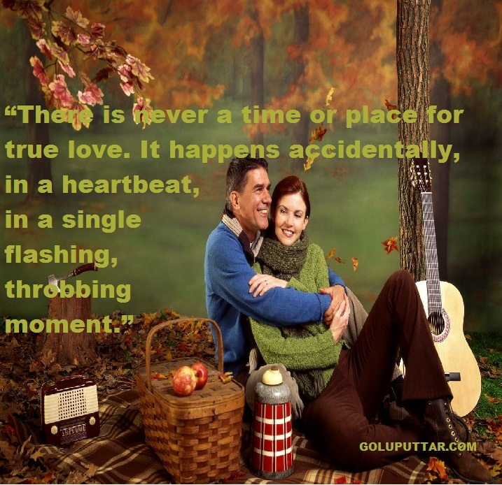 Heart touching romantic love quotes