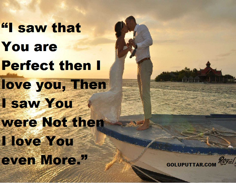 Perfect romantic love quotes for hubby