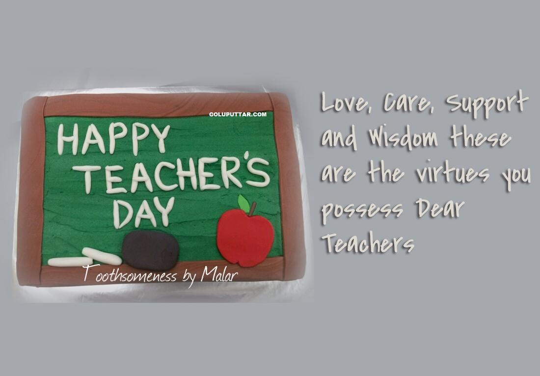Reapecting teacher day love quotes -v77676