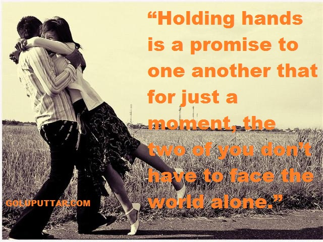 Romantic love with romantic promise love quotes