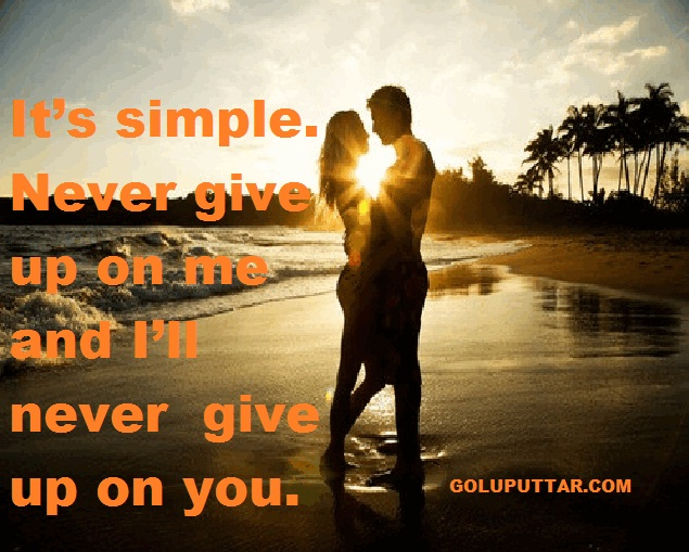 Simple love quotes and sayings