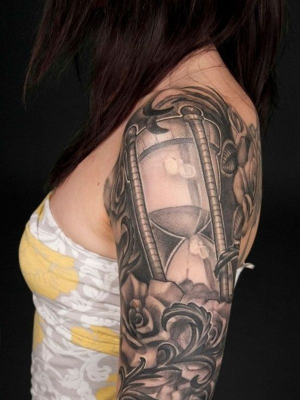 Supreme hourglass tattoo hot ideas
