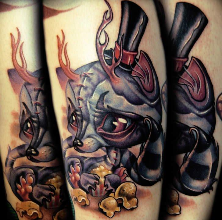 aggressive rabbit tattoo designs diary