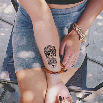 awesome hamsa tattoo @ 694