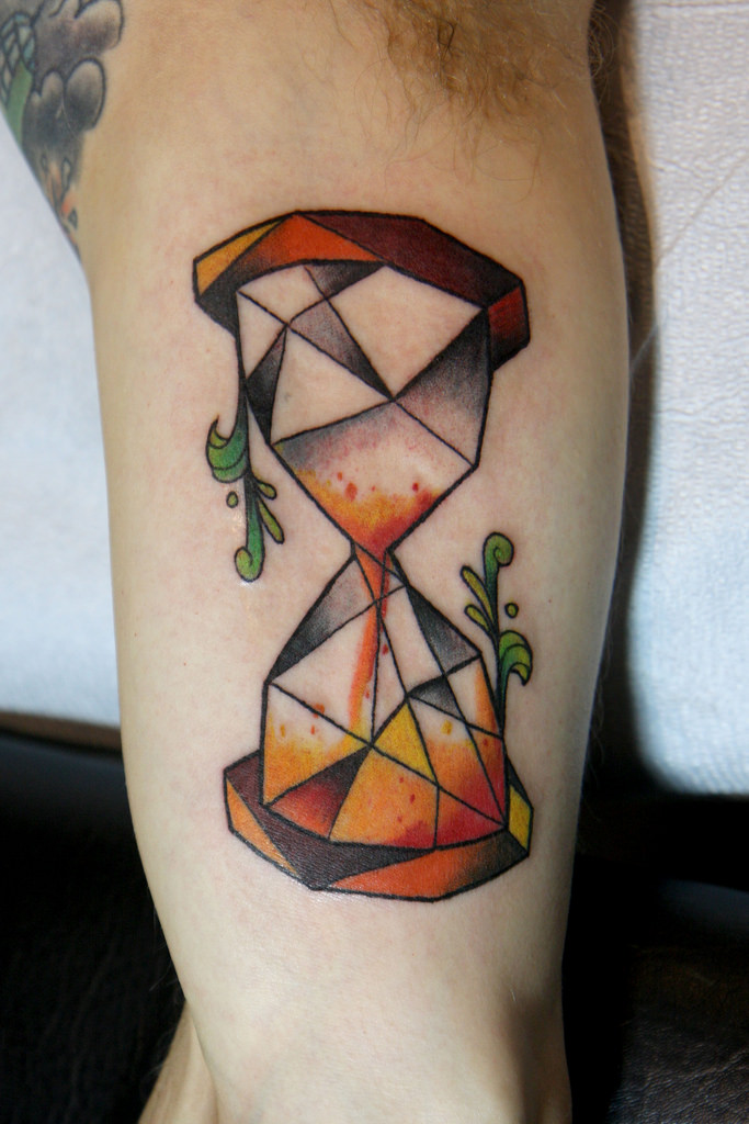 beautiful hourglass tattoo horny ideas