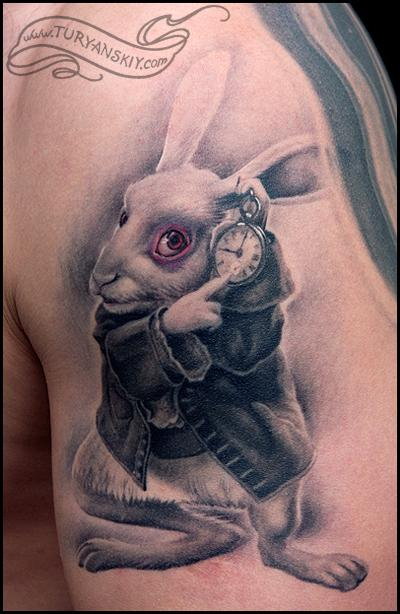 beautiful rabbit tattoo design catalogue