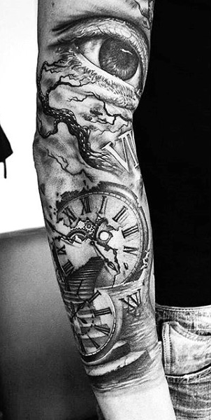 best sand hourglass tattoo designs idea