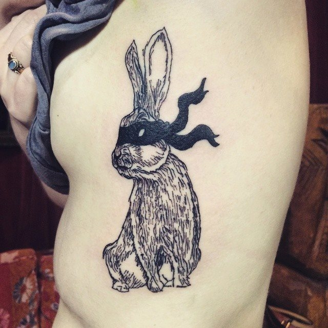 cool bunny tattoo designs diary