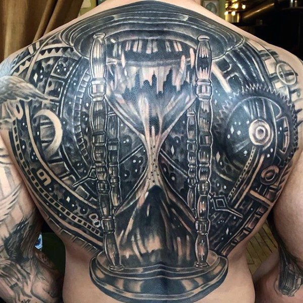 gorgeous hourglass tattoo horny ideas on back