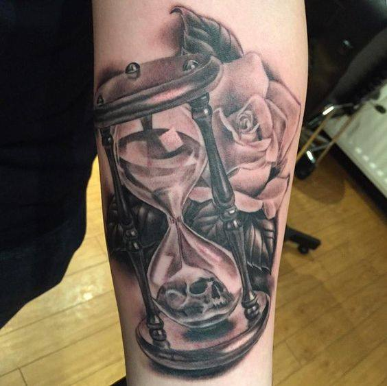 hourglass tattoo horny boys ideas