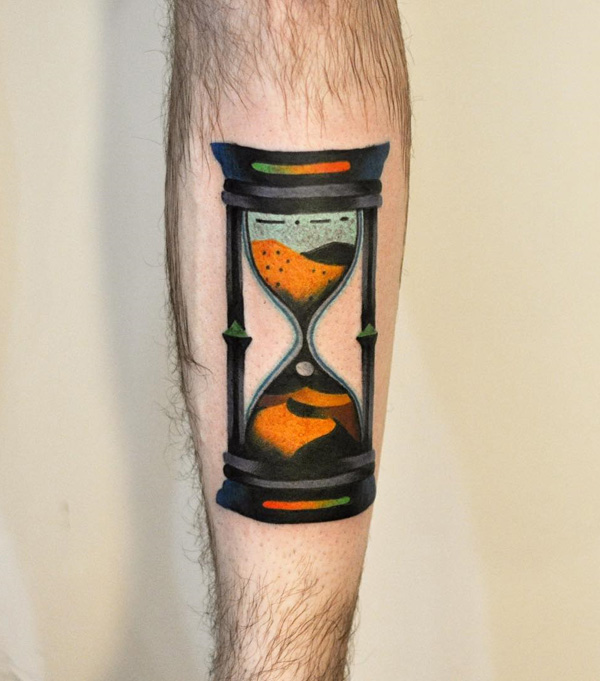 magnificent hourglass tattoo hot ideas