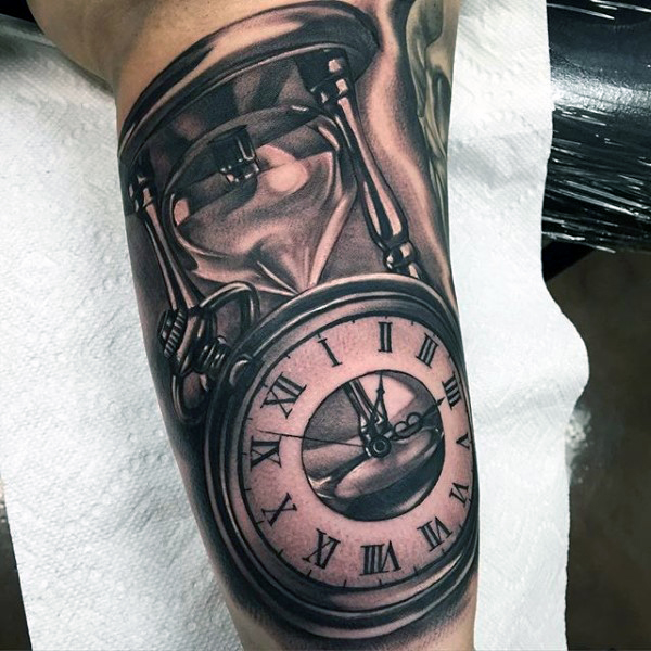 new hourglass tattoo horny ideas
