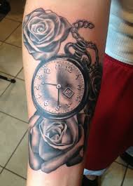 spectacular hourglass tattoo cool colorful ideas