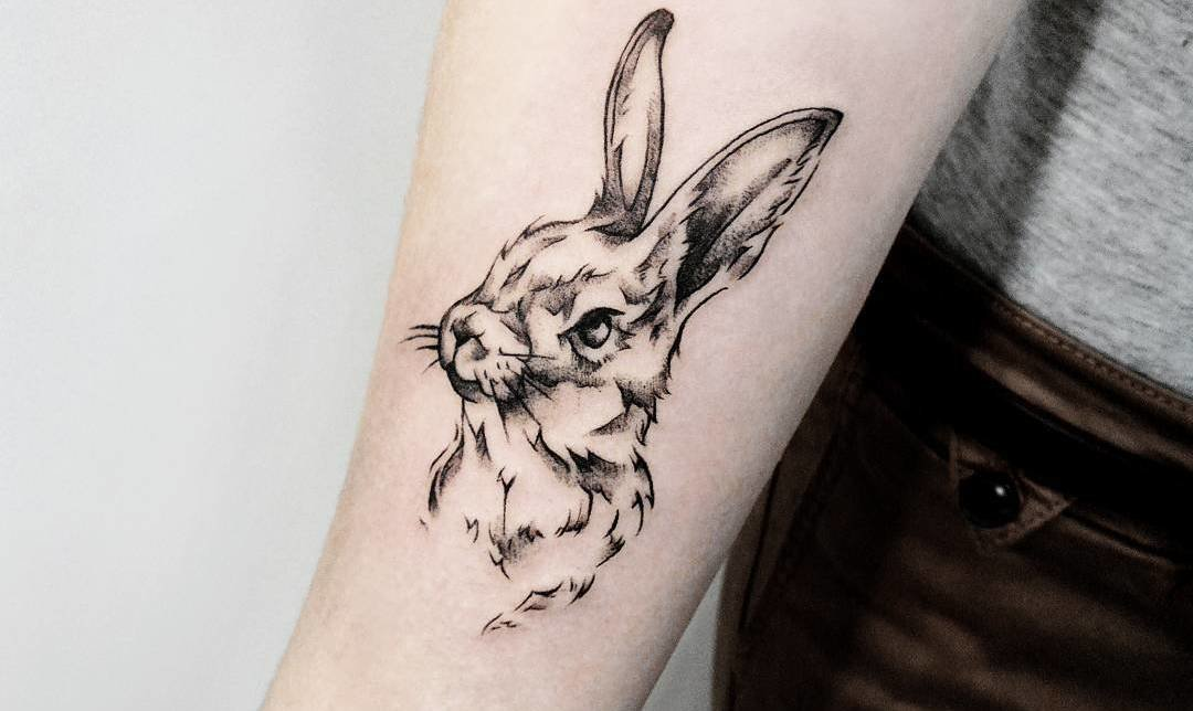 stunning rabbit tattoo designs diary