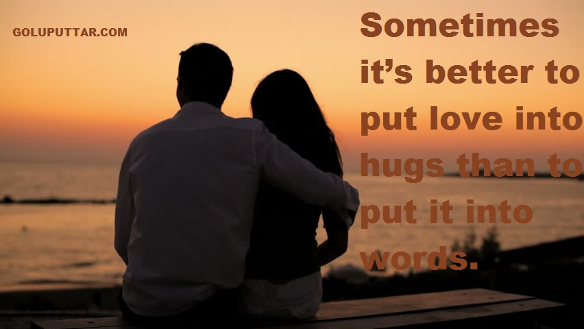 lOVE HUG QUOTES & SAYINGS