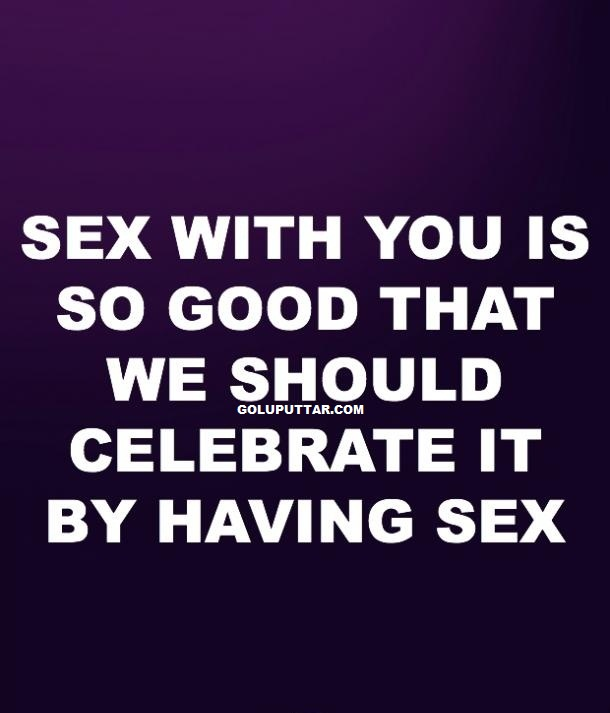 funny sex celebration quotes
