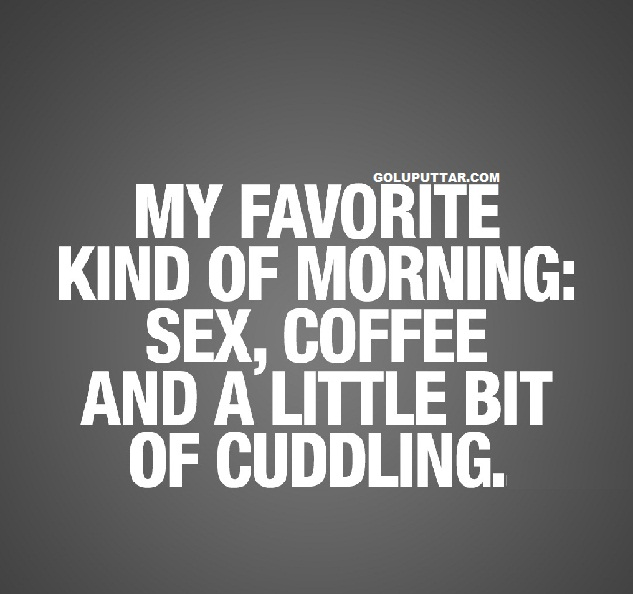 funny sex cuddling quotes