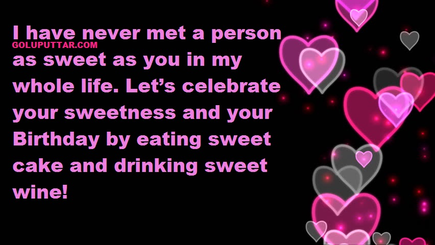 Romantic birthday quotes for love