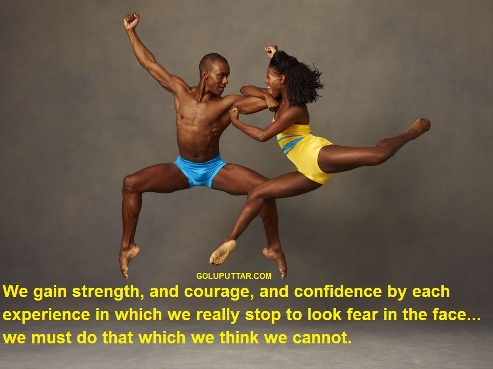 AWESOME STRENGTH AND COURAGE QUOTE