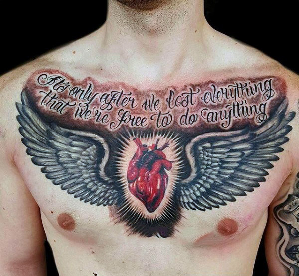 3d chest tattoos and photo ideas page 2 for Arguments against tattoos
