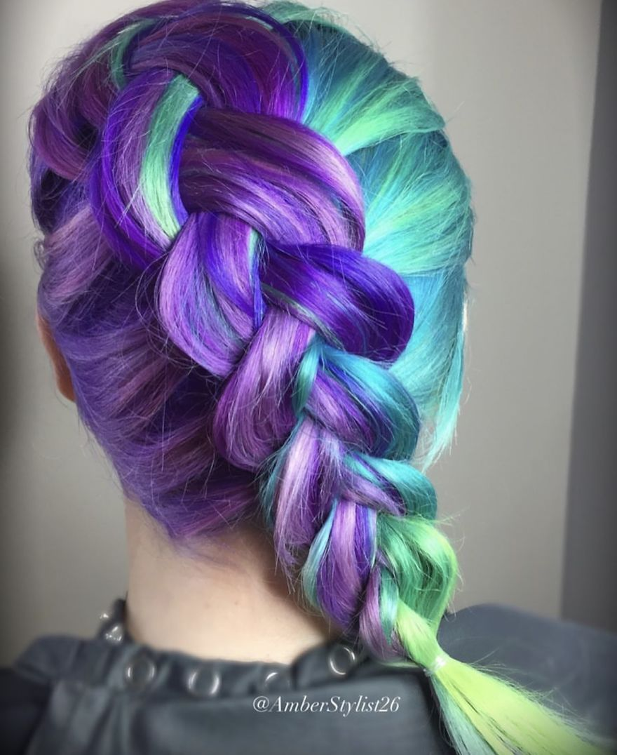 Love for colored hairsyles 5rr5