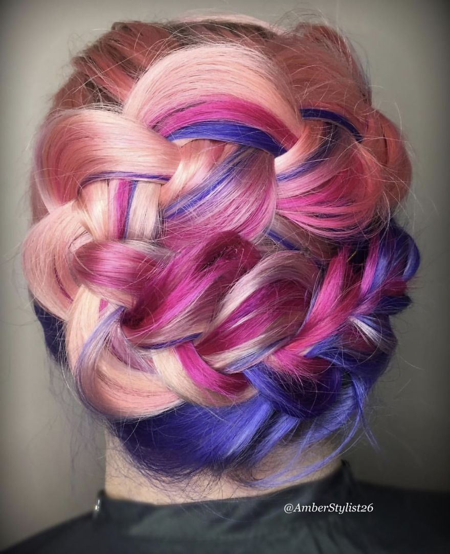 Love for colored hairsyles gfhgf