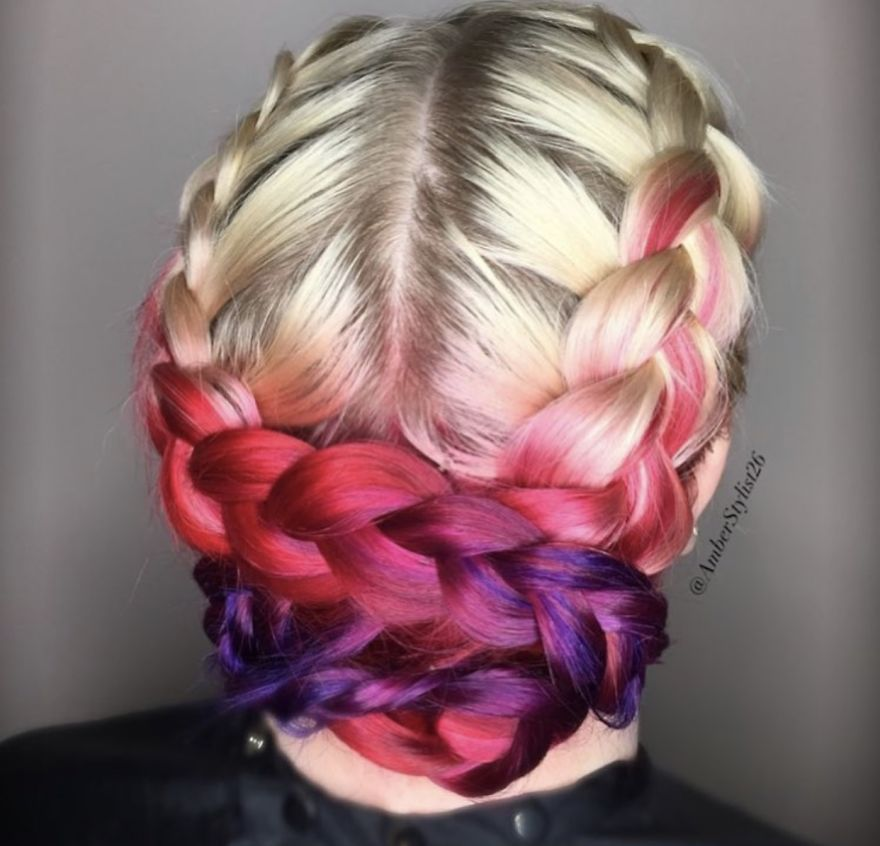 Love for colored hairsyles hffy